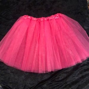 Pink Tulle Skirt for costume. M